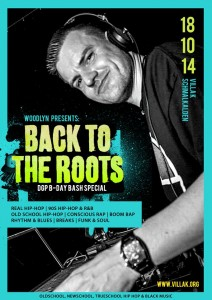 Back To The Roots mit DJ Shame, Tegon & D.G.P.