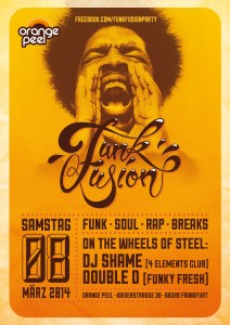 DJ Shame & Funky Fresh Double D bei Funk Fusion in Frankfurt am Main
