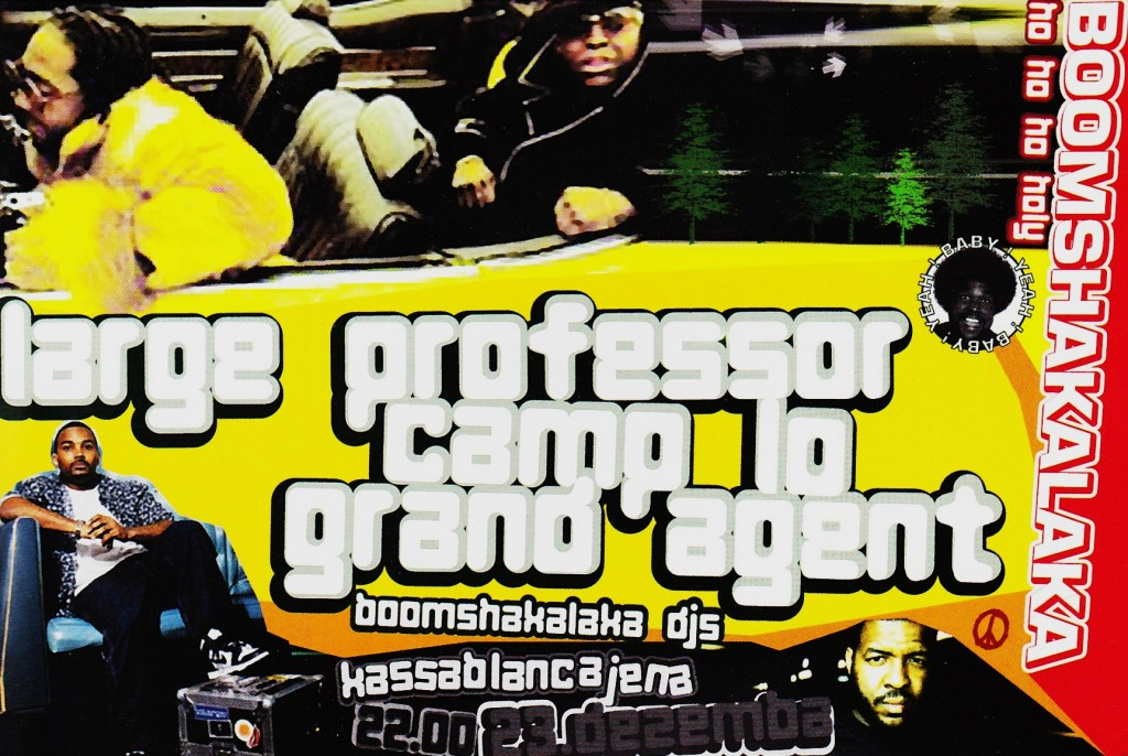 DJ Shame mit Camp Lo Large Professor & Grand Agent