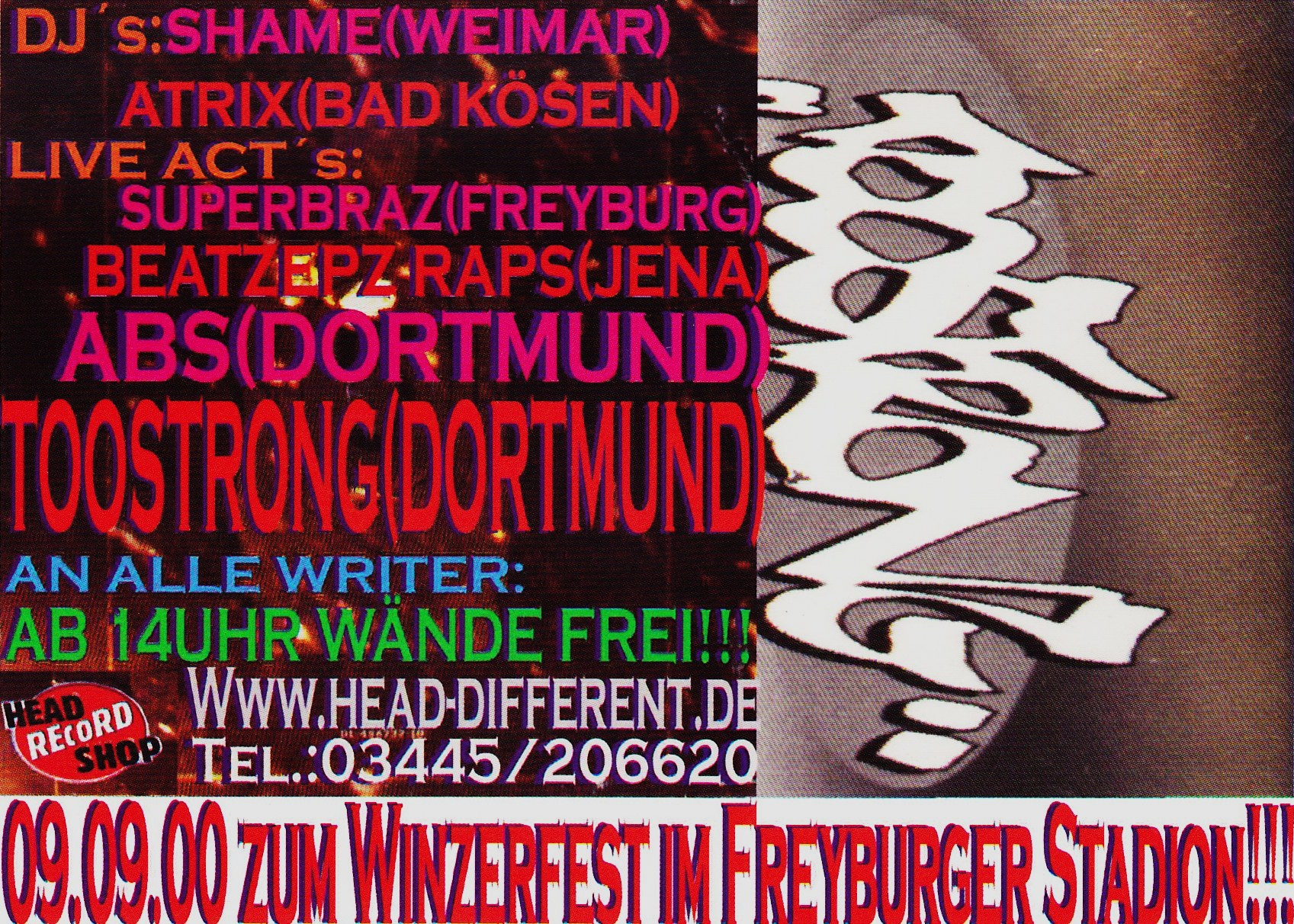 DJ Shame mit ABS & Too Strong